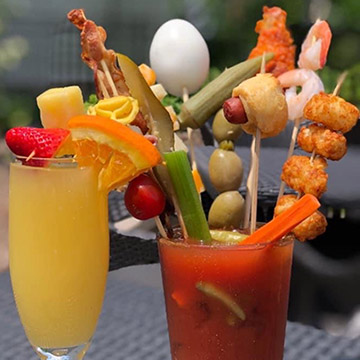 Sunday: Loaded Bloody Marys & Bottomless Mimosas $15